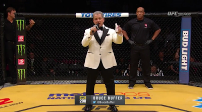 Bruce Buffer's suit UFC 200