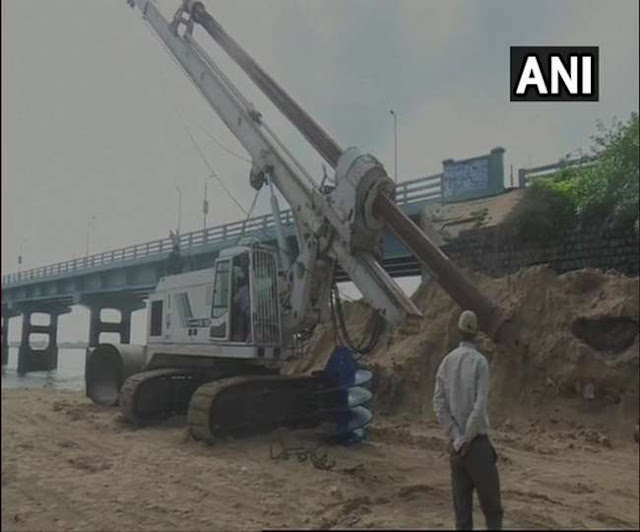 Construction of new Pamban railway bridge started, being prepared at a cost of 250 crores.