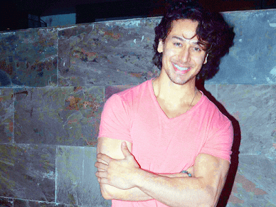 Tiger Shroff Cute Smile HD Wallpaper