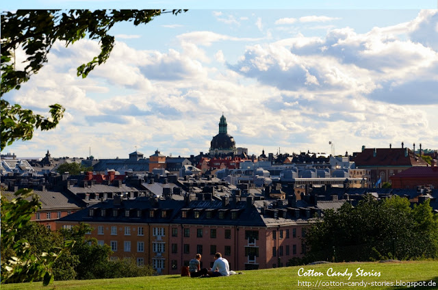 Blick über Stockholm