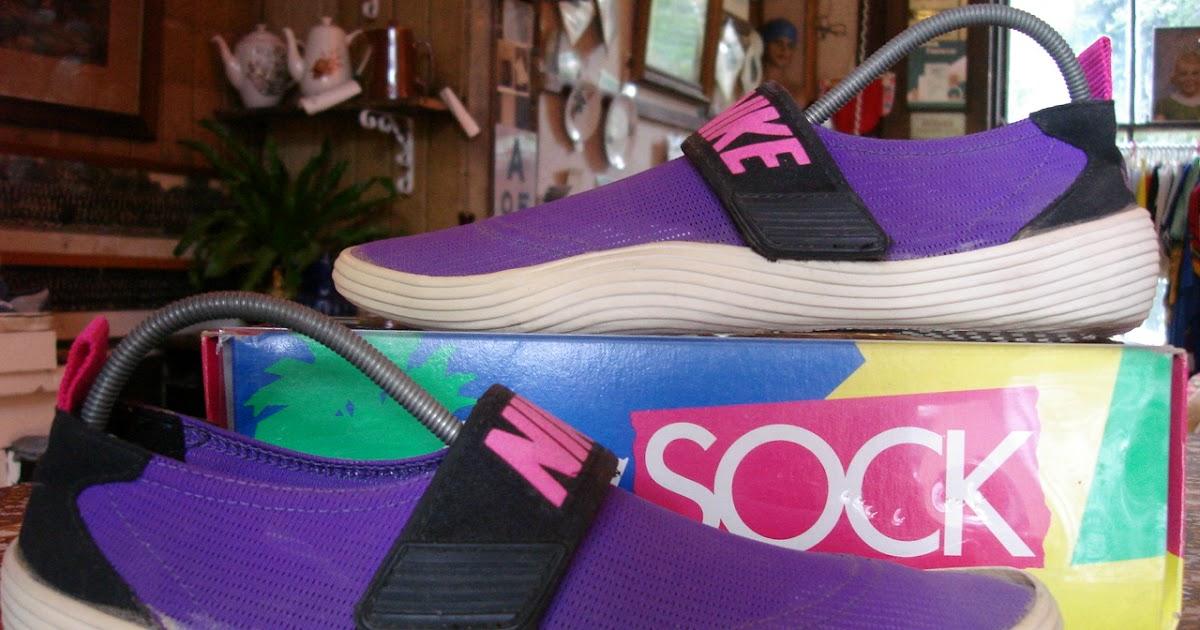 Theothersideofthepillow Vintage Nike Aqua Sock Us11 Strap