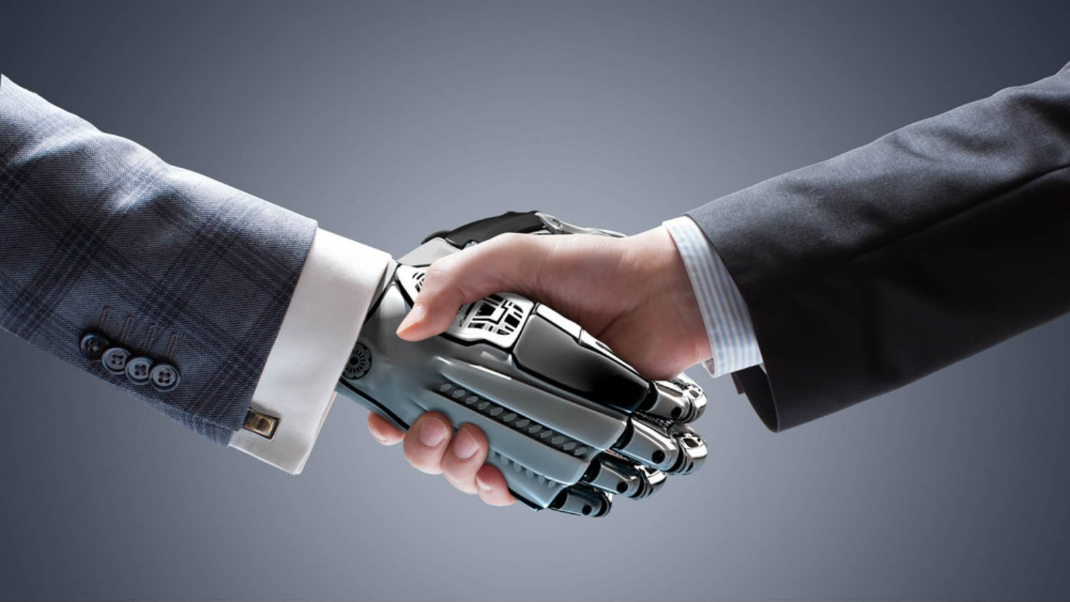 Image result for robot and human together