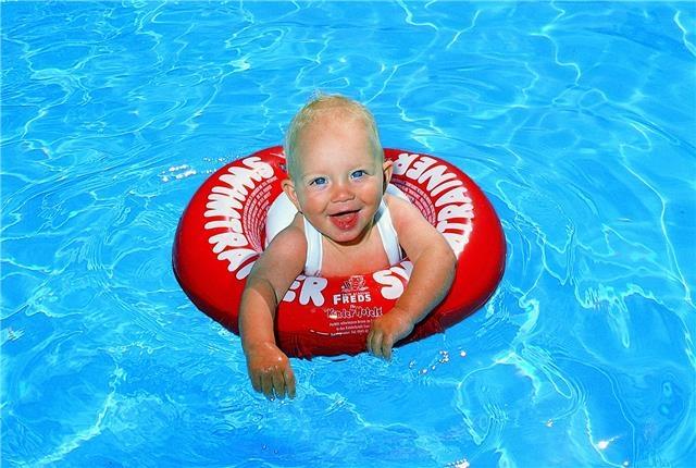 Úszógumi 4 hónapos babának