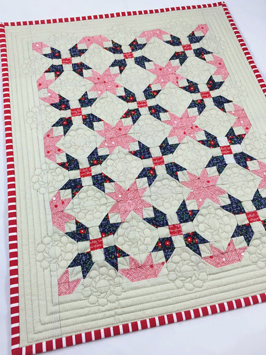 One of Those Days Quilt Free Pattern Designed by Heather from Quilts Actually for Fort Worth Fabric Studio