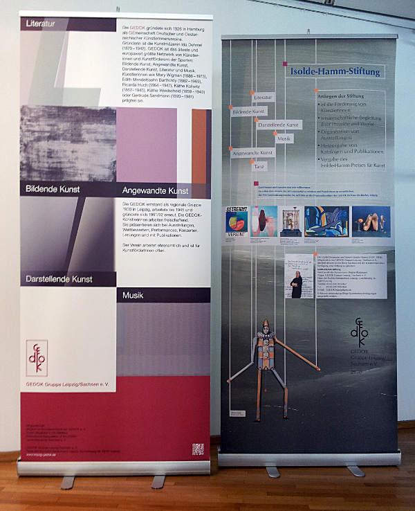 Sylvias Malerei: Gedok-Leipzig, Jahresausstellung \