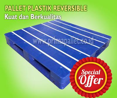 Kelebihan dan Kekurangan Menggunakan Pallet Plastik Reversible