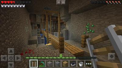 Gameplay Minecraft Pocket Edition