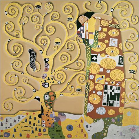Tranh Klimt - Tranh sơn dầu