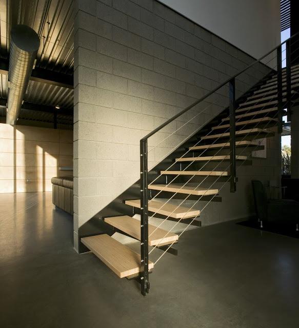 Gambar Rumah Gaya Industrial Minimalis