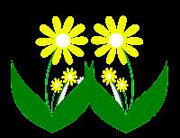 flor amarela em png