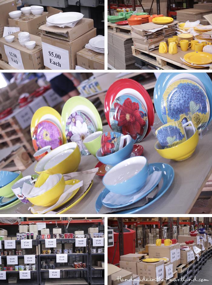 Warehouse Dish & Pottery Sale Kansas City