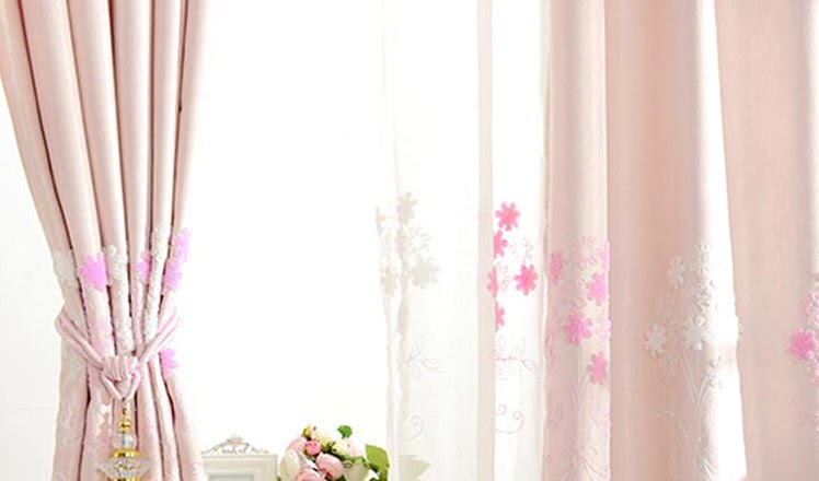 Home Living Inspiration: Floral Curtains
