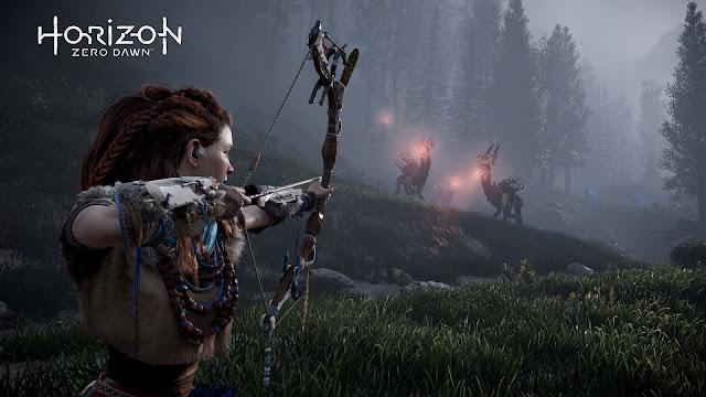 Así son los escenarios de The Frozen Wilds, la expansión de Horizon: Zero Dawn