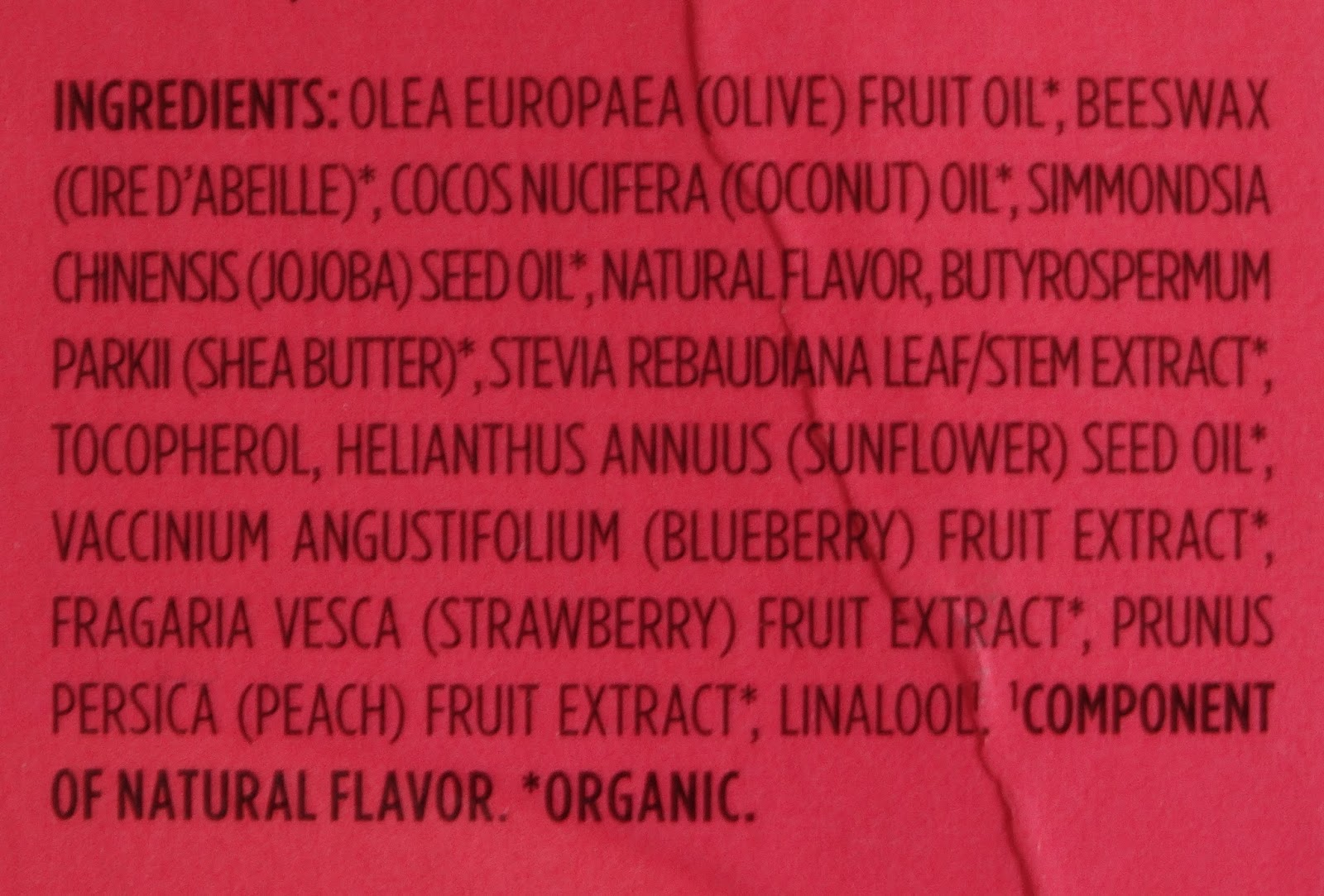 EOS Organic Lip Balm Sphere in Summer Fruit review in India