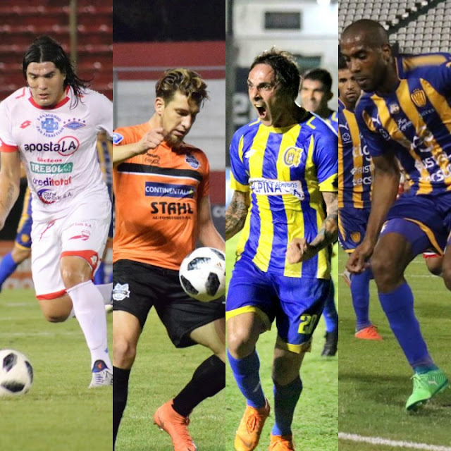Cuatro equipos pelean por un lugar en la Copa Sudamericana 2019