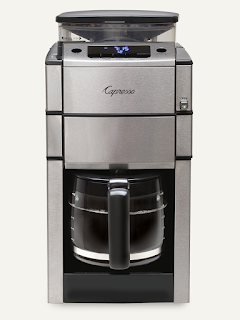 Capresso Coffeemaker with Conical Burr Grinder