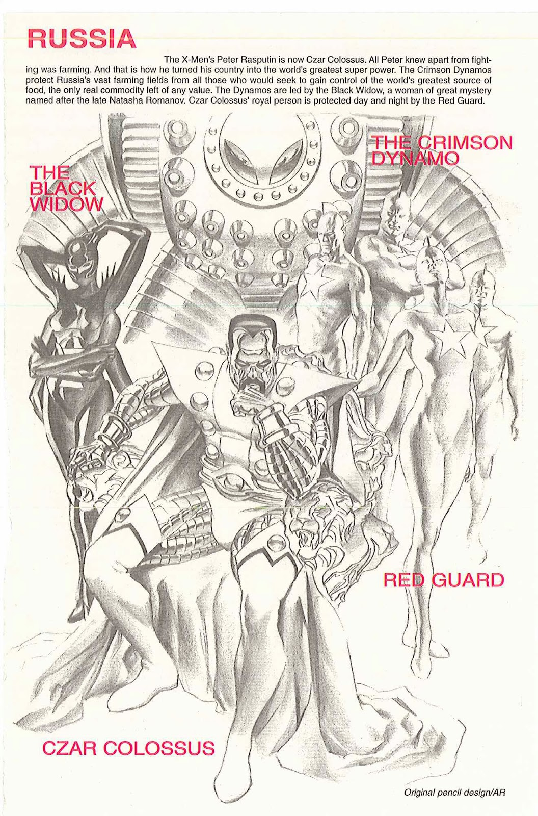 The Dork Review Alex Ross Earth X Sketchbook
