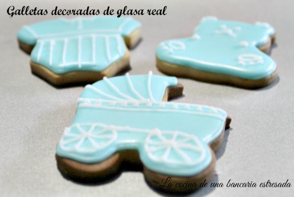 Receta de galletas decoradas con glasa real
