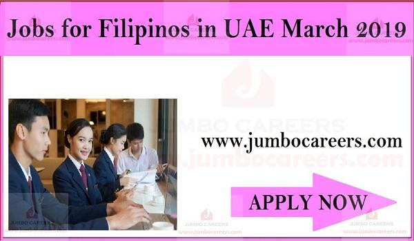 Urgent Filipinos jobs in UAE, Job openings in Gulf countries,