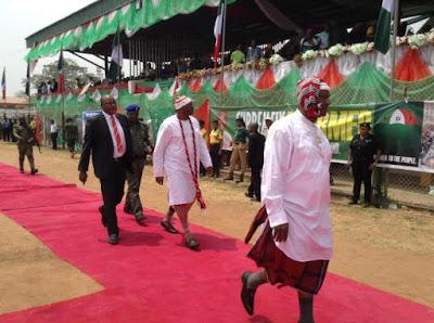 fayose celebrates with Okezie Ikpeazu