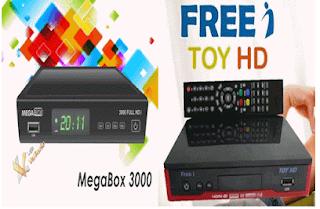 ATUALIZAÇÃO MEGABOX 3000 EM FREEI TOY HD V1.024 - 28-02-2016