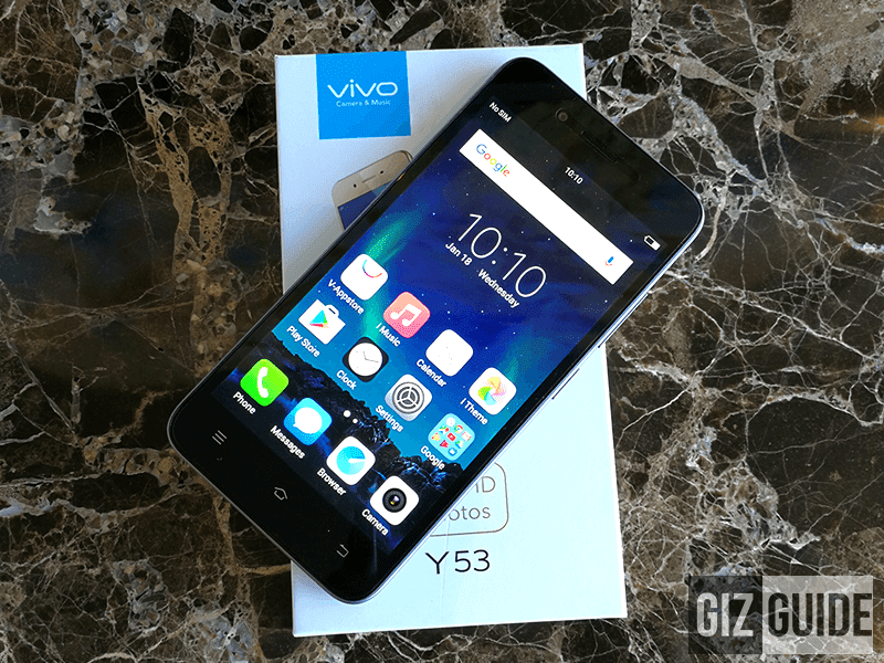 Vivo Y53 Unboxing And First Impressions