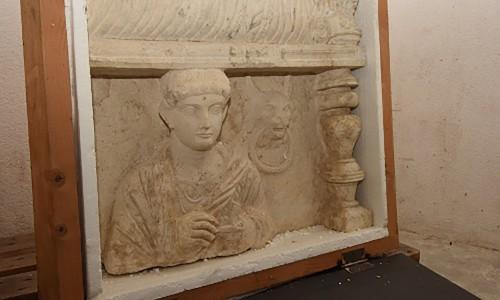 Αρχαία αριστουργήματα της Παλμύρας κατασχέθηκαν στην Ελβετία