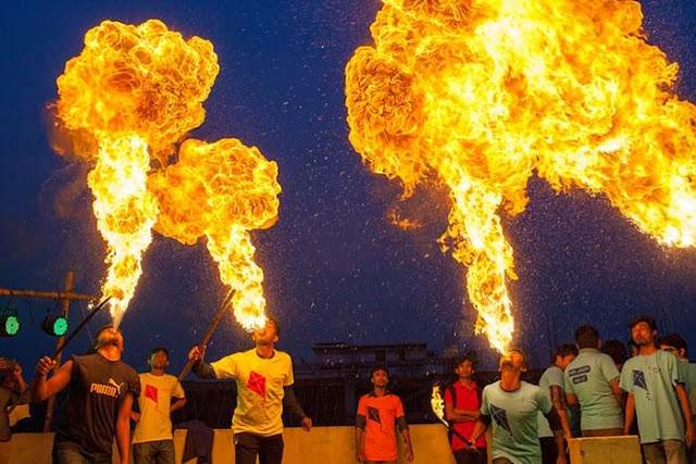 Shakrain Festival Fireworks