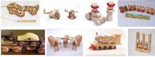 Kids Songs on Wooden Toys