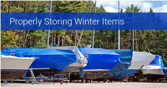 Winter Boat Storage With Migson Public Storage