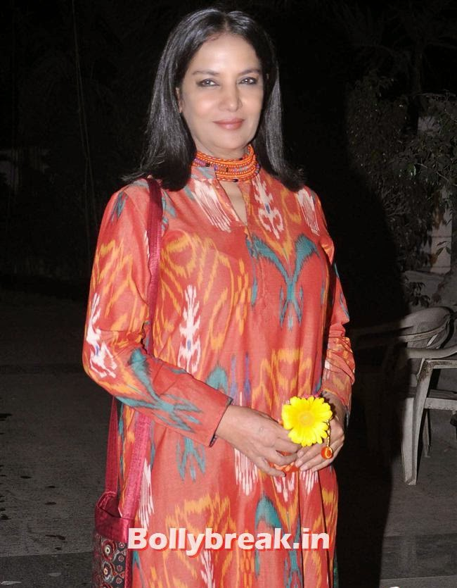 Shabana Azmi, Bollywood Celebs at Kangana Ranaut Birthday Bash Pics