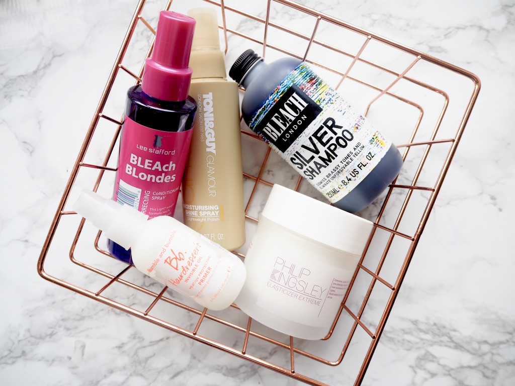 blonde haircare picks
