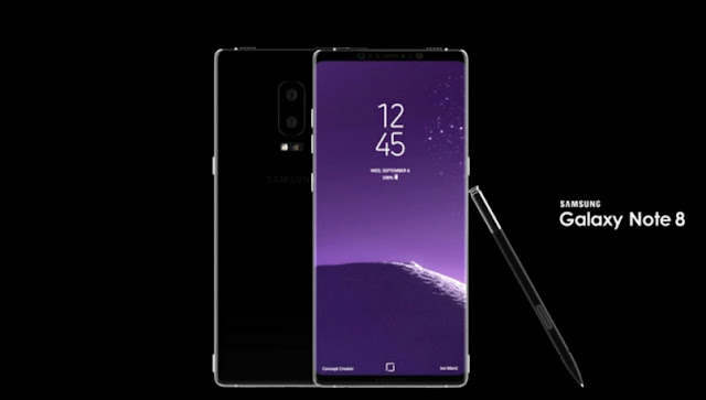 Samsung Galaxy Note 8 launch date