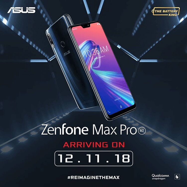 ASUS ZenFone Max Pro M2 Arriving in PH on December 11