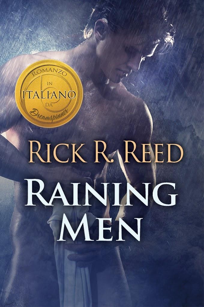"""Libri in uscita: in arrivo il 12 settembre """"Raining Men"""" (Seguito di """"Cacciatore"""") di Rick R. Reed"""