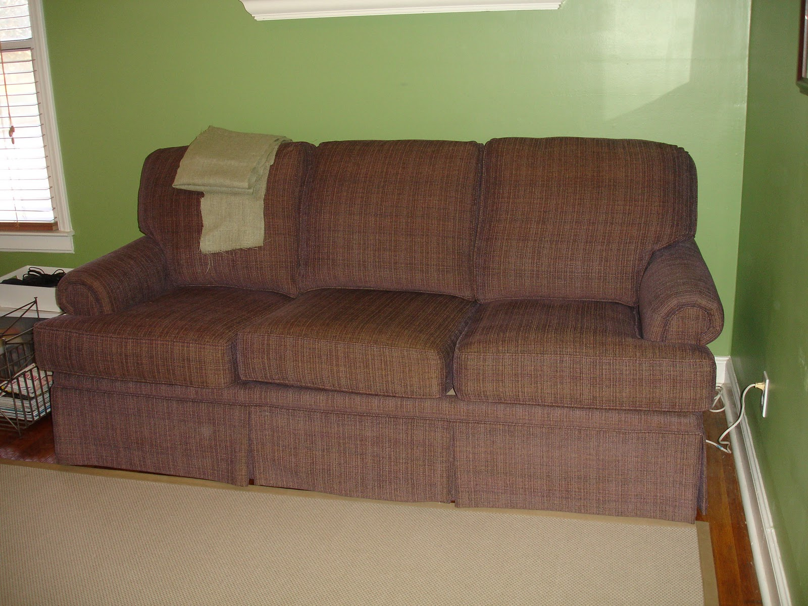 eggplant sofa transitional style sofas wedded whittaker making the cut