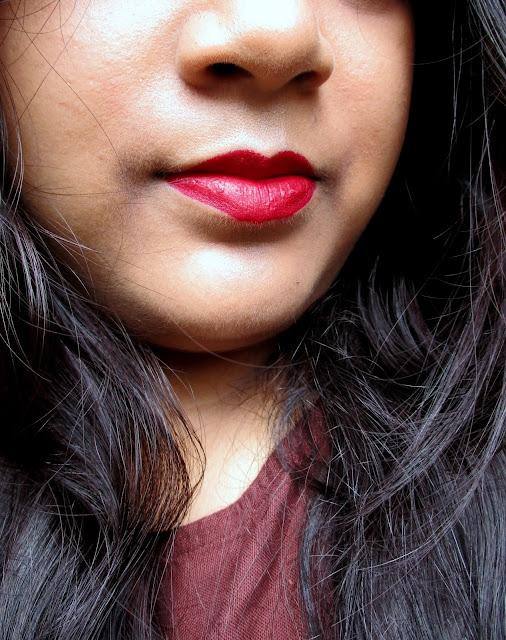 SUGAR Plush Hour Matte Lipstick- 01 Cherry Jane
