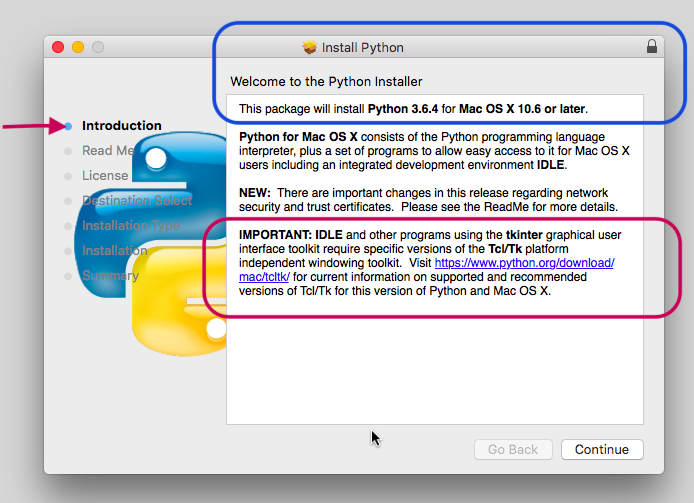 for Python Students: Python org's fix for IDLE on Mac