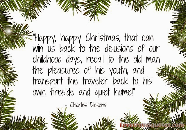 charles dickens christmas quote