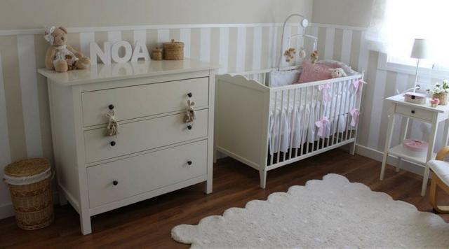 Habitación infantil en beige