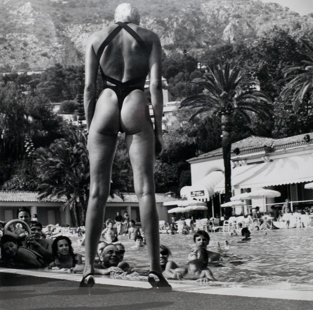 3487b647cd2ef Brigitte Nielsen at the Monte-Carlo Beach Hotel, 1987 | BlueisKewl