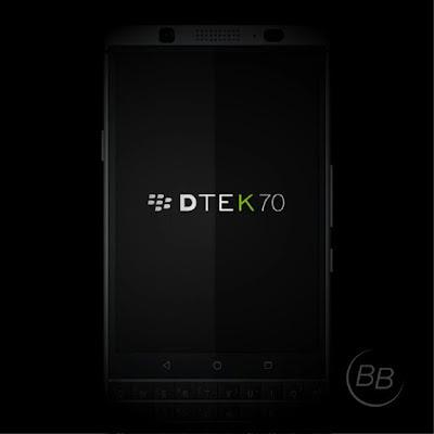 BlackBerry DTEK70 Rumoured Device specs