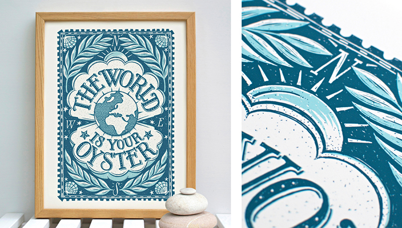 creative interview with alexandra snowdon - print the world is your oyster
