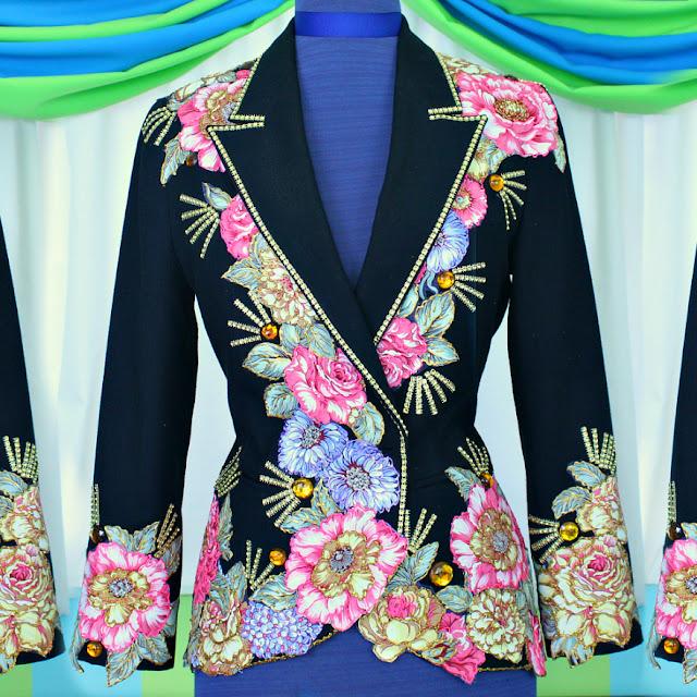 No Sew Vogue Inspired Blazer