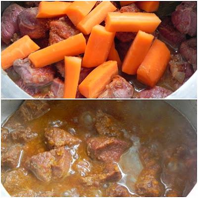 como fazer receita de carne com legumes