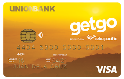 Fulfill your new travel dreams with CEB GetGo Visa Credit cards