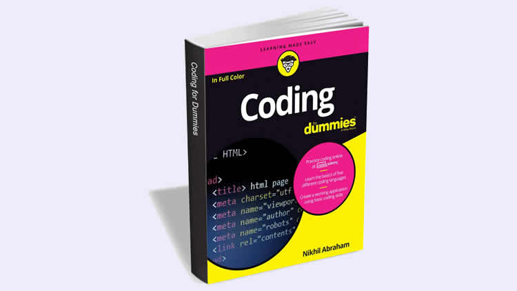 Coding For Dummies eBook ($16 Value) FREE For a Limited Time