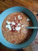 Πικάντικη ντοματόσουπα με τραχανά - by https://syntages-faghtwn.blogspot.gr