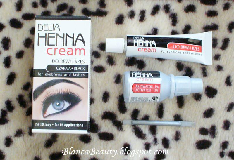 Delia Henna Cream Do Brwi I Rzęs Blankita Kosmetyki Uroda