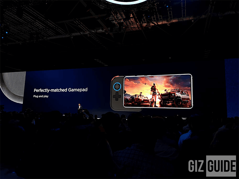 It has a 7.2-inch Ultra Large OLED display ideal for gaming